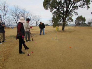 やりだすと中々面白いグランドゴルフとその後の楽しみ‼