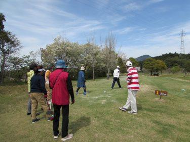 賞金総額ウン○○円祈念すべき第1回親善グランドゴルフ大会その賞金の行くへは?