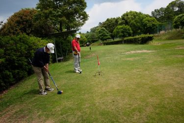 ゴールデンウィークはグランドゴルフ三昧!そのゴルフの後の反省会は?
