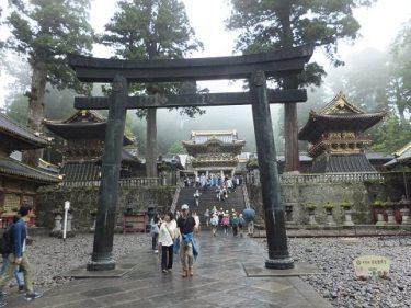 2017年の旅、9月7日は小雨の中は日光東照宮を散策。