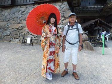長野6日目は松本城~中山道・木曽路奈良井宿散策、パート1松本城編。